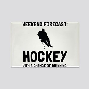 Weekend Forecast Hockey Magnets