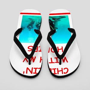 scuba diving Flip Flops