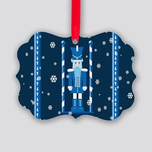 The Nutcracker Blue Ornament