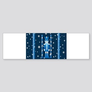 The Nutcracker Blue Bumper Sticker