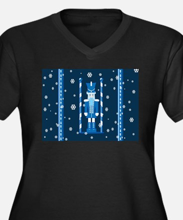 The Nutcracker Blue Plus Size T-Shirt