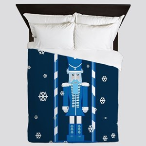 The Nutcracker Blue Queen Duvet