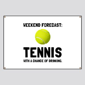 Weekend Forecast Tennis Banner