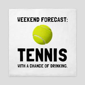 Weekend Forecast Tennis Queen Duvet
