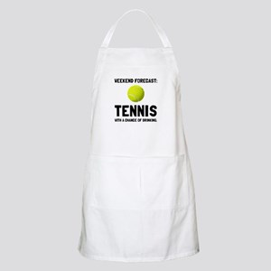 Weekend Forecast Tennis Apron