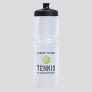 Weekend Forecast Tennis Sports Bottle