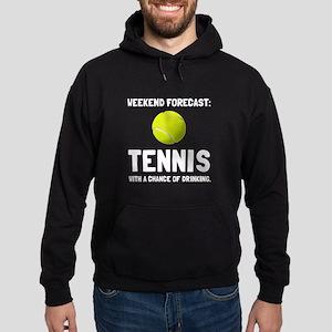 Weekend Forecast Tennis Hoodie