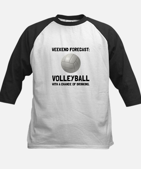 Weekend Forecast Volleyball Baseball Jersey