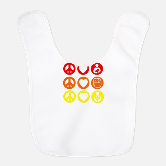 Peace Love and everything! Bib