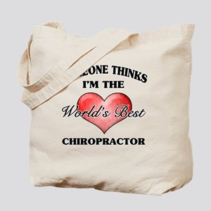 World's Best Chiropractor Tote Bag