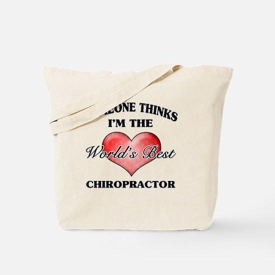 World's Best Chiropractor Tote Bag