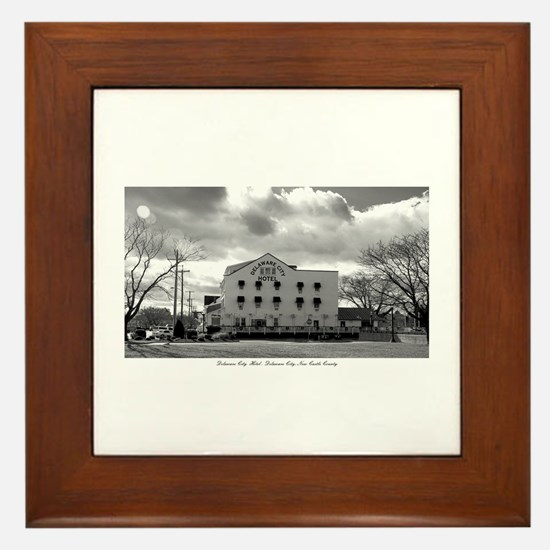 Delaware City, Delaware. Framed Tile