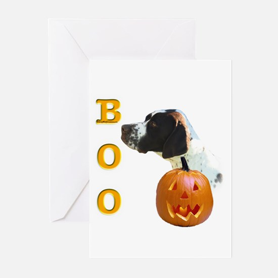 Pointer (Lvr) Boo Greeting Cards (Pk of 10)
