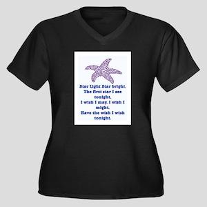 STAR LIGHT - STAR BRIGHT Women's Plus Size V-Neck