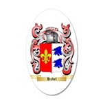 Habel 20x12 Oval Wall Decal