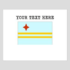 Custom Aruba Flag Posters