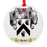 Heady Round Ornament