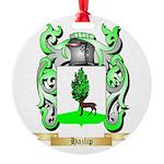 Hazlip Round Ornament