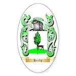 Hazlip Sticker (Oval 50 pk)