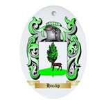 Hazlip Ornament (Oval)