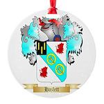 Hazlett Round Ornament