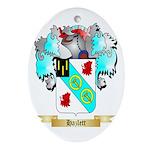 Hazlett Ornament (Oval)