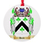 Hazle Round Ornament