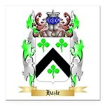 Hazle Square Car Magnet 3