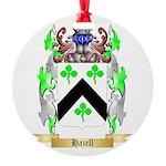Hazell Round Ornament