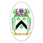 Hazell Sticker (Oval 50 pk)