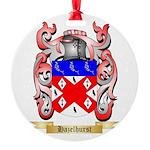 Hazelhurst Round Ornament