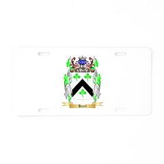 Hazel Aluminum License Plate