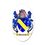 Hayworth Oval Car Magnet