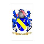 Hayworth Sticker (Rectangle 50 pk)