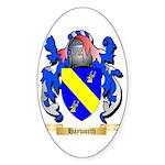 Hayworth Sticker (Oval)