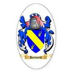 Hayworth Sticker (Oval 10 pk)