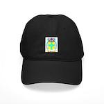 Hayley Black Cap