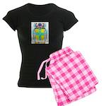 Hayley Women's Dark Pajamas