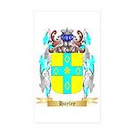 Hayley Sticker (Rectangle 50 pk)