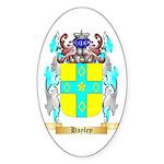 Hayley Sticker (Oval 50 pk)