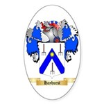 Hayhurst Sticker (Oval 50 pk)