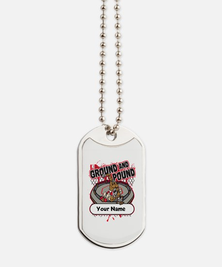 Custom Ground and Pound MMA Dog Tags
