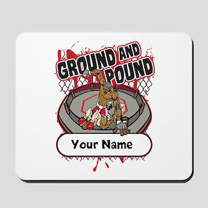 Custom Ground and Pound MMA Mousepad