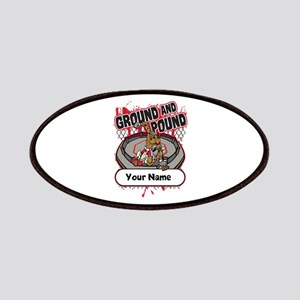 Custom Ground and Pound MMA Patches