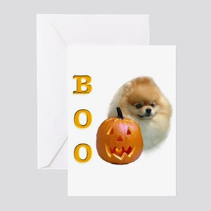 Pomeranian Boo Greeting Cards (Pk of 10)