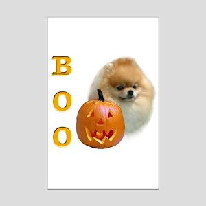 Pomeranian Boo Mini Poster Print