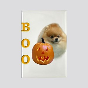Pomeranian Boo Rectangle Magnet