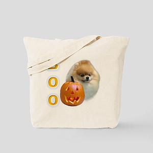 Pomeranian Boo Tote Bag