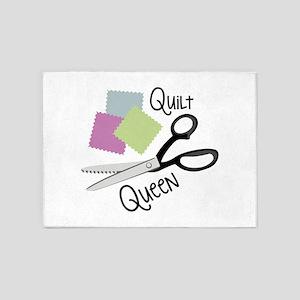 Quilt Queen 5'x7'Area Rug