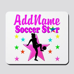 SOCCER PLAYER Mousepad